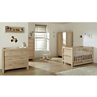 more details on Tutti Bambini Milan 6 Piece Oak Furniture Room Set.