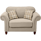 more details on Heart of House Windsor Cuddle Fabric Sofa - Cream.