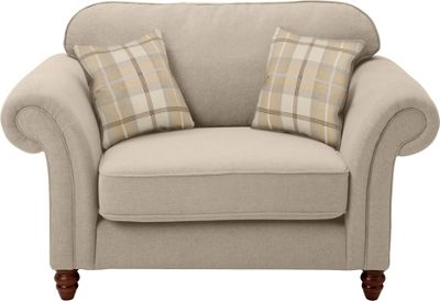 Buy Heart of House Windsor 2 Seater Cuddle Chair - Cream ...