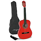 more details on Martin Smith 1/2 Classical Guitar Pack - Red.