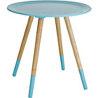 more details on Habitat Blossom Side Table - Blue.