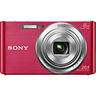 more details on Sony Cybershot W830 20MP 8xZoom Compact Digital Camera-Pink.