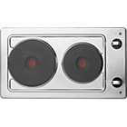 more details on Hotpoint E320SKIX Solid Plate Electric Hob - Stainless Steel
