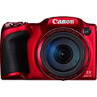 more details on Canon PowerShot SX400 16MP 30x Zoom Bridge Camera - Red.