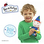 more details on Ben and Holly Talking Plush.