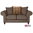 more details on Heart of House Windsor Regular Fabric Sofa - Mink/Heather.