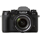 more details on Fujifilm X-T1 16MP 18-55mm CSC Camera - Black.