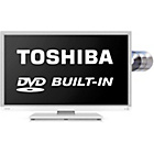 more details on Toshiba 32D1334 32 Inch LED TV DVD Combi - White.