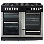 more details on Bush BCYU100DFSS Dual Fuel Range Cooker- S/Steel.