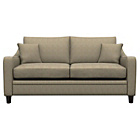 more details on Heart of House Newbury Regular Fabric Check Sofa - Beige.