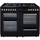 more details on Bush BCY100DFB Dual Fuel Range Cooker- Black/Ins/Del/Rec.