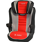 more details on Nania Rway Agora Group 2-3 High Back Booster Seat - Carmin.