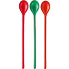 more details on Habitat Mimosa 10 Assorted Coloured Melamine Tall Spoon.