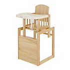 more details on Obaby Cube Highchair - Natural.