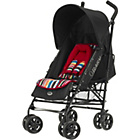 more details on Obaby Atlas V2 Pushchair - Red Stripe.