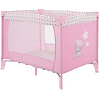 more details on Me to You Tiny Tatty Teddy Bassinette Travel Cot Pink.