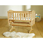 more details on Saplings Glider Crib - Natural.