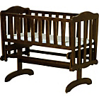 more details on Saplings Glider Swinging Crib - Walnut.