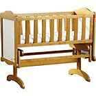 more details on Saplings Gracie Crib - Country/Ivory.