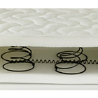 more details on Saplings Sprung Cot Bed Mattress - 140 x 70cm.