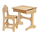more details on Saplings Desk and Chair - Solid Pine.