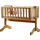 more details on Saplings Bethany Swinging Crib - Natural.