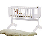 more details on Saplings Bethany Swinging Crib - White.