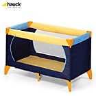 more details on Hauck Dream 'n' Play Travel Cot - Yellow, Blue, Navy.
