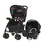 more details on Obaby Monty Travel System - Black Stripe.