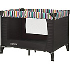 more details on Obaby Naptime Bassinette Travel Cot - Black.