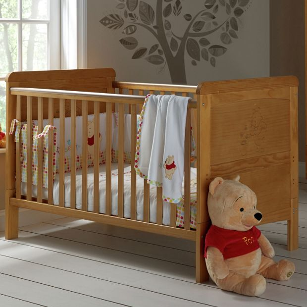 Buy winnie the pooh deluxe cot bed at your online shop for cot beds cots cribs - Cute winnie the pooh baby furniture collection ...