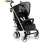 more details on Hauck Spirit Pushchair and Raincover - Caviar Silver.