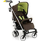 more details on Hauck Spirit Buggy and Raincover in Coffee Kiwi.
