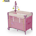 more details on Hauck Dream 'n' Care Centre in Butterfly Travel Cot.