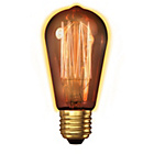 more details on Calex Vintage Squirrel Cage Filament E27 Gold Tinted Glass.