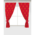 more details on Manchester United FC Crest Curtains - 168 x 183cm - Red.