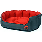 more details on Petface Oxford Large Dog Bed - Red.