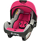 more details on Nania Agora Group 0 Plus Infant Carrier Car Seat - Raspberry