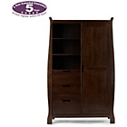 more details on Obaby Lincoln Wardrobe - Walnut.