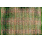 more details on Habitat Mattock Green Cotton and Jute Rug - Small.