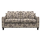 more details on Heart of House Newbury Fabric Floral Sofa Bed - Chocolate.