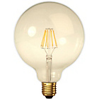more details on Calex LED Filament Large Globe Warm White 380 Lumen Gold.
