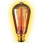 more details on Calex 35W BC Vintage Squirrel Cage Filament Gold Dimmable.
