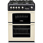 more details on Hotpoint CH60GPCF Gas Cooker - Cream/Del/Ins/Rec.