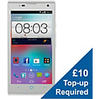 more details on Virgin ZTE Kis 3 Max Mobile Phone - White.