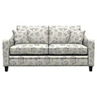more details on Heart of House Newbury Regular Fabric Floral Sofa - Grey.