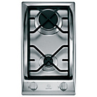 more details on Indesit DP2GSIX Domino Gas Hob - Stainless Steel.