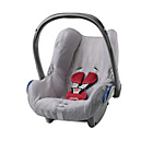 more details on Maxi-Cosi Summer Cabriofix Car Seat Cover - Cool Grey.