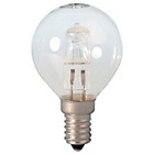 more details on Calex 18W Halogen Golf Ball E14 Clear Glass Dimmable 10 Pack