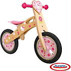 more details on Hello Kitty Wooden Balance Bike - Design 2.